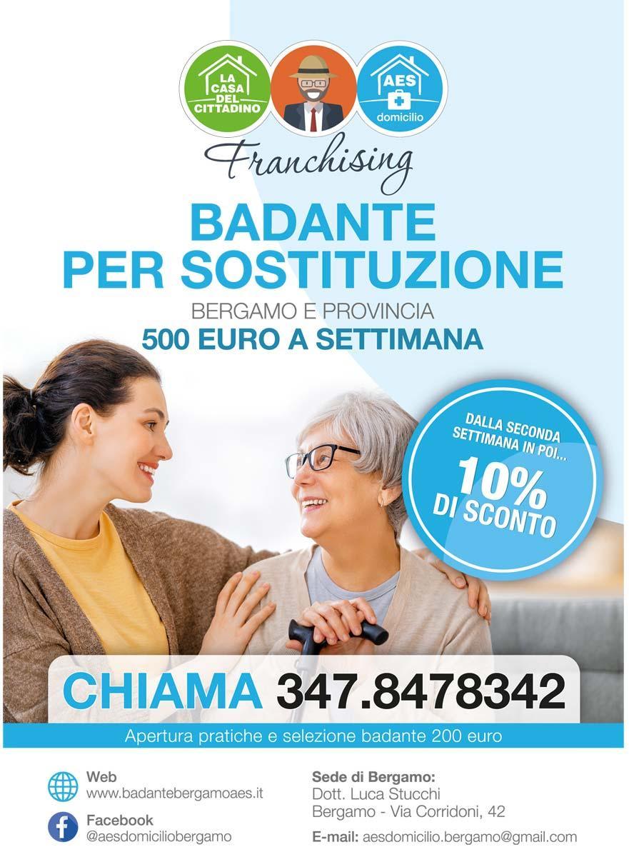 Badante Sostitutiva Bergamo